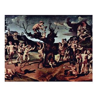 Baccus descobriu o mel por Piero di Cosimo (seja Cartoes Postais