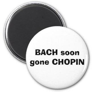 BACH CHOPIN logo ido Imãs