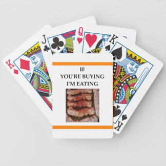 bacon baralhos de poker