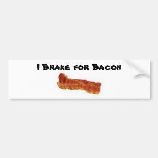 bacon, eu travo para o bacon adesivo para carro
