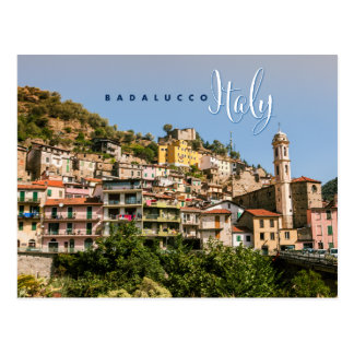 Badalucco Italia Cartão Postal