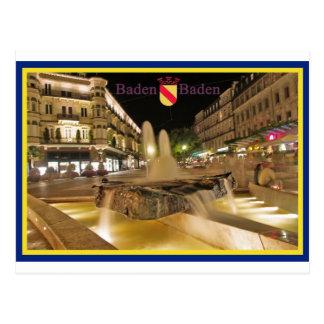 Baden-Baden cartão