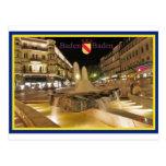 Baden-Baden cartão Cartão Postal