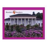 Baden-Baden Spielbank Cartoes Postais