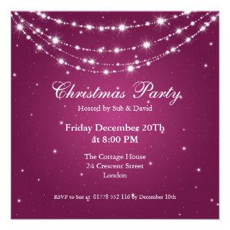Baga Chain Sparkling elegante do convite de festas