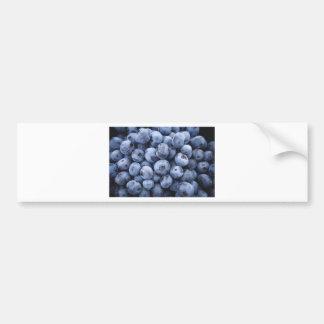 Baga das bagas da fruta do petisco dos mirtilos adesivo para carro