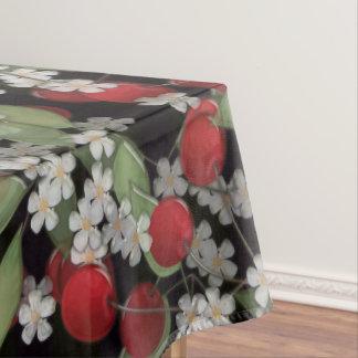 Bagas vermelhas toalha de mesa