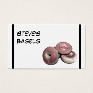 Bagels! Cartão De Visitas