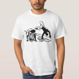 Baía Capoeira - logotipo de w/tmcc T-shirt