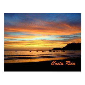 Baía Costa Rica de Herradura do cartão