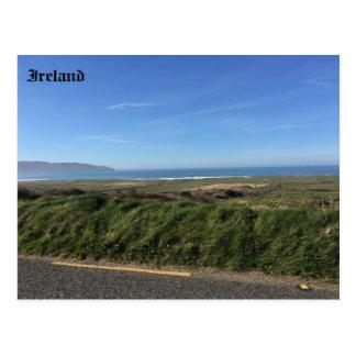 Baía de Brandon, ponto de Brandon, Kerry, Ireland Cartão Postal