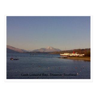Baía de Loch Lomond, cartão
