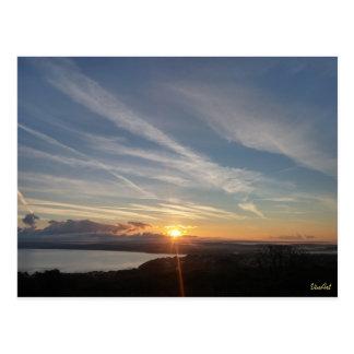 Baía de St Ives pela marca A. Vincent Cartão Postal