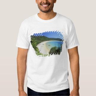Baía de Tonga, Abel Tasman NP, ilha sul, nova T-shirt