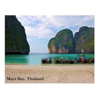 Baía do Maya, Tailândia Cartão Postal