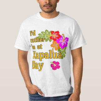 Baía HAVAÍ de Kapalua eu preferencialmente estaria Camiseta