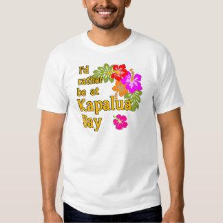 Baía HAVAÍ de Kapalua eu preferencialmente estaria T-shirt