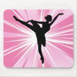 Bailarina cor-de-rosa da estrela