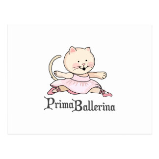 BAILARINA DE PRIMA CARTOES POSTAIS