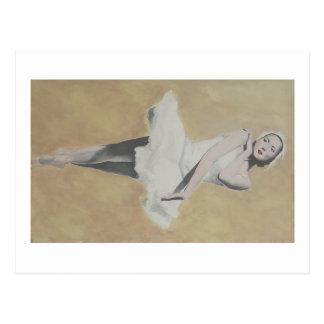 Bailarina de Prima Cartão Postal