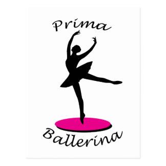 Bailarina de Prima Cartao Postal