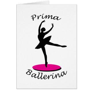 Bailarina de Prima Cartoes