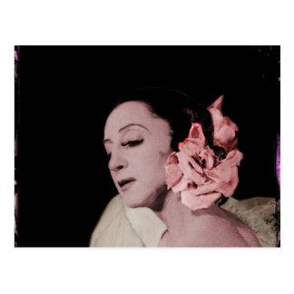 Bailarina de Prima do russo Cartão Postal