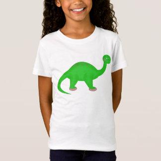 Bailarina do dinossauro camiseta