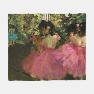 Bailarinas no rosa por Edgar Degas Cobertor De Velo