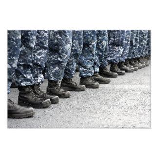 Baixa opinião da seção os marinheiros impressão de foto