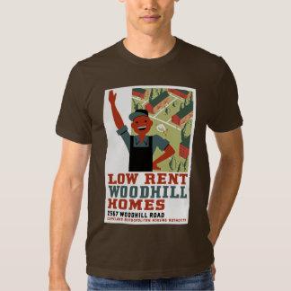 Baixo aluguel tshirts
