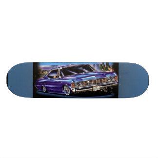 Baixo carro do cavaleiro - skate