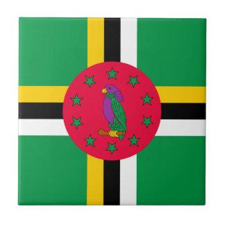 Baixo custo! Bandeira de Dominica