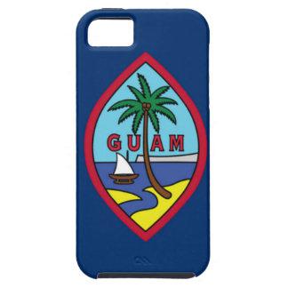 Baixo custo! Bandeira de Guam Capa Para iPhone 5