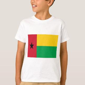 Baixo custo! Bandeira de Guiné-Bissau Camiseta
