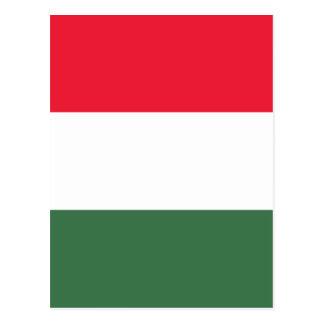 Baixo custo! Bandeira de Hungria Cartão Postal