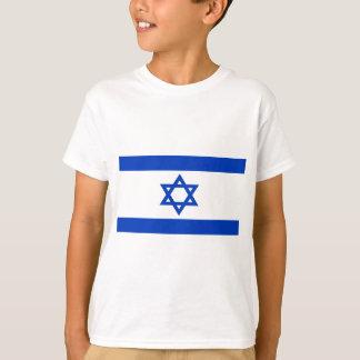 Baixo custo! Bandeira de Israel Camiseta
