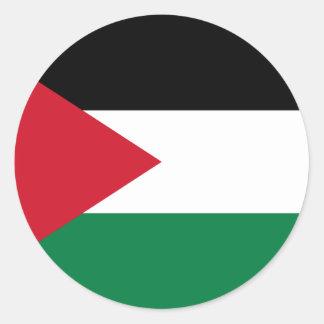 Baixo custo! Bandeira de Jordão Adesivo Redondo