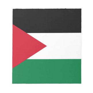 Baixo custo! Bandeira de Jordão Bloco De Anotação