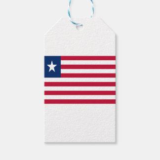 Baixo custo! Bandeira de Liberia Etiqueta Para Presente