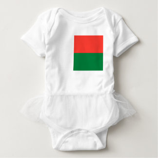 Baixo custo! Bandeira de Madagascar Body Para Bebê