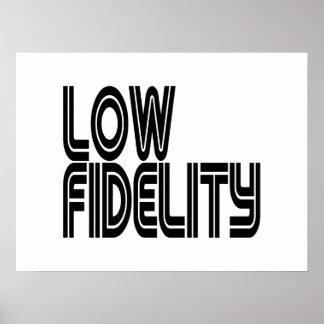 Baixo Fidelity Poster