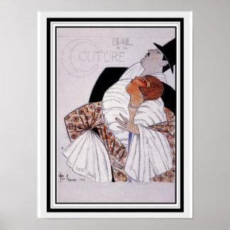 Bal De La Couture poster 12 x 16