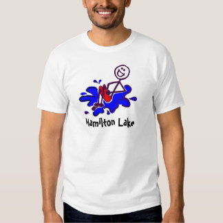 Bala de canhão do lago Hamilton Camisetas