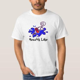 Bala de canhão do lago Messick Tshirt