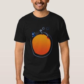 Bala de canhão em todo o mundo t-shirts