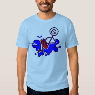 Bala de canhão grande t-shirts