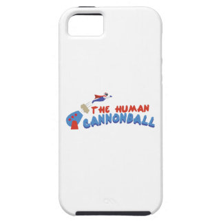 Bala de canhão humana capa tough para iPhone 5