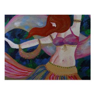 Baladi, cartão bonitos da arte do dançarino de