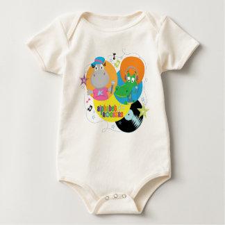 Balancins do alfabeto macacãozinhos para bebê